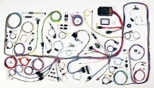 1966 77 Ford Bronco Classic Update American Autowire Wiring Harness Kit 510317