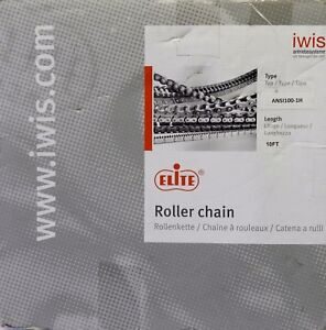 Elite Iwis Roller Chain A rc100imp Rc 100 X 10 Ft