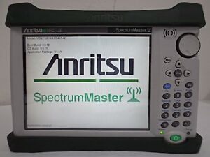 Anritsu Ms2712e 9 31 541 542 Handheld Spectrum Analyzer 9khz To 4ghz Ms2713e