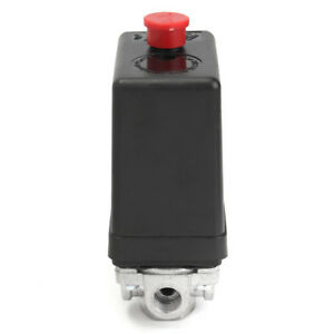4 Port Air Compressor Pressure Switch With Unloader Control Valve On off Switch