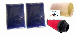 Replacement Particulate Filter Coalescing Filter 2 Bags Desiccant Beads
