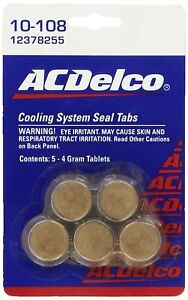 Gm Radiator Ac Delco Cooling System Seal Set Of 5 4 Gram Tablets Oem