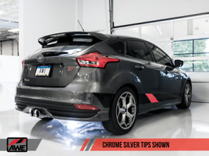Awe Tuning 2013 2018 Ford Focus St Ecoboost Turbo Exhaust System Non Resonated