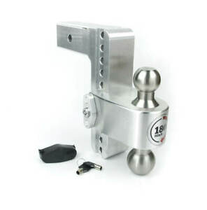 Weigh Safe Ltb8 2 5 180 Hitch 8 Drop For 2 5 Shaft With Key Lock