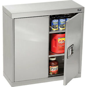 Global Stainless Steel Wall Cabinet 30 w X 12 d X 30 h