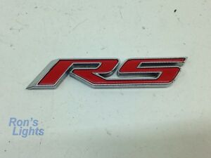 2011 2015 Chevy Cruze Etc Front Door Red Rs Emblem Pre Owned