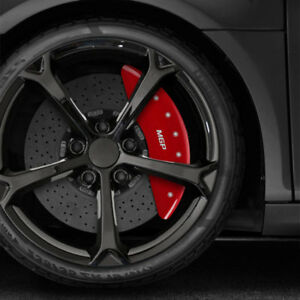 Mgp Set Of 4 Red Caliper Covers For 2017 Mercedes Benz C43 Amg Base