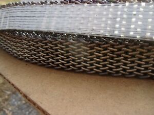 Cambridge Wire Precision Flat 304 Stainless Steel Mesh Conveyor Belt 1 W 100 L