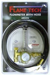 Flame Technologies 100 fl ar 60 580h Flow Meter Argon With Hose
