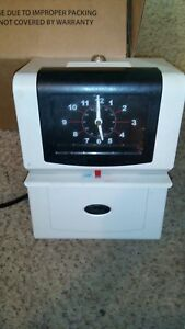 Lathem Time Clock 4201 Heavy Duty Automatic Time Recorder