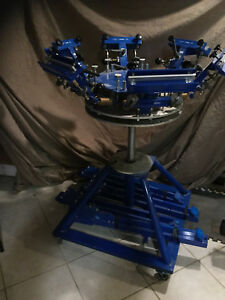 Screen Printing T Shirt Press Machine Never Used U s Made Commercial