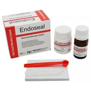 3 X Endoseal Dental Root Canal Obturation Cement Indications Permanent Root C