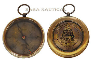 Nautical Brass Hms Victory 1805 Compass Marine Ship Item For Gifted
