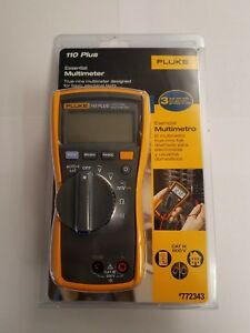 Fluke Multimeter 110 Plus 772343 Brand New Sealed Free Shipping