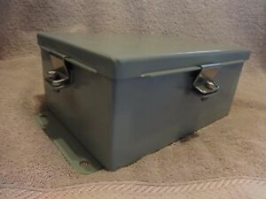 Hoffman Junction Box Enclosure A806ch 8 X 6 X 3 5 Inch New