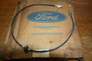 Nos 1970 1971 1972 Ford Galaxie Ltd Country Squire C4 Fmx Speedometer Cable Asby