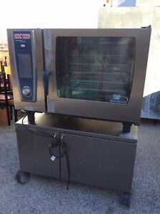 Rational Gas Combi Oven Sccwe 62 G Self Cooking Center White Efficiency