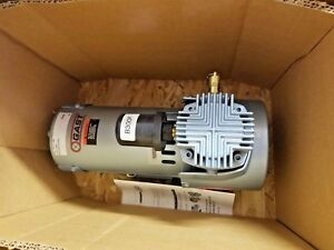 New Gast 3heb 19 m350 Oil less Compressor Piston Pump 12 Volt Dc 1 3 Hp Motor