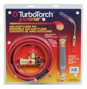 Turbotorch 0386 0338 X 5b Torch Kit Swirl For B Tank Air Acetylene