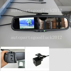 Normal Car Rearview Mirror 3 5 Lcd Camera Fit Ford Toyota Nissan Honda Dodge Kia