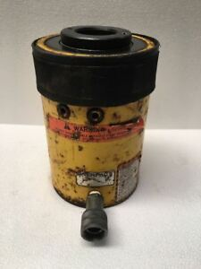 Enerpac Rch 603 Hydraulic Hollow Cylinder 60 Tons Capacity With 3 Stroke 1