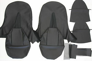 New Jaguar Xke E Type Si 3 8 Leather Bucket Seat Cover Black For A Coupe