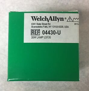 Welch Allyn Brand 04430 u Replacement Bulb For Ls135 ls150 Lamp