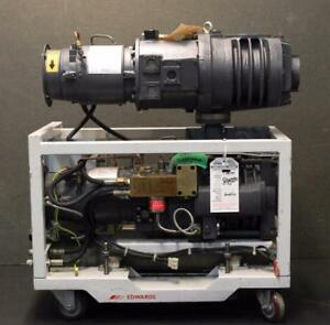 Edwards Drystar Dry Pump Qdp40 Mechanical Booster Qmb250 Refurbished 5367