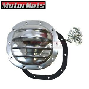 Rear End Cover Polished Aluminum Ford 8 8 Ring Differential Cover 10 Bolt Gm