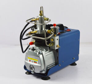 First 30mpa High Pressure Electric Air Compressor For Paintball Pcp 110v New