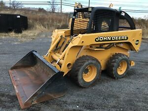 John Deere 260 Skid Steer Loader W Factory Heater