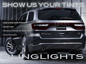 Tinted Tail Lamp Overlays Protective Film Lamp Cover Guards For Dodge Durango