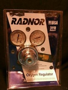 Radnor By Harris 25 100c 540 Oxygen Regulator