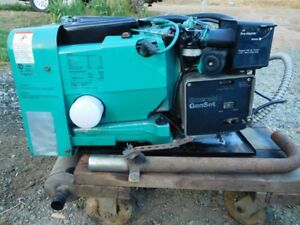 Onan 4000 Watt Rv Generator 4 0 Kw Gas Camper Trailer video With It Running
