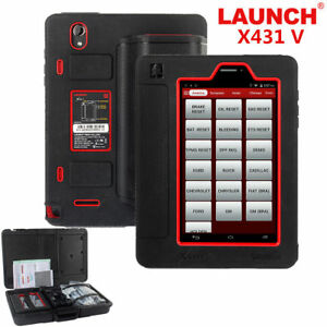 Launch X431 V Obd2 Scanner Auto Car Diagnostic Tool 8inch Full System Scan Pad