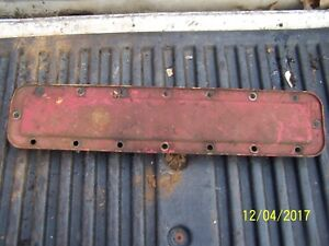 International Farmall M Tractor Engine Water Jacket Side Plate