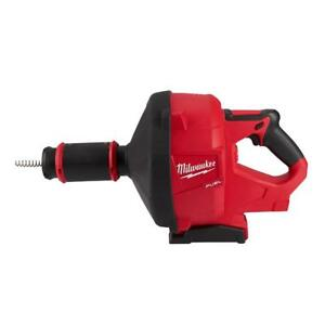 Milwaukee 2772a 20 M18 Fuel Drain Snake W Cable drive tool Only