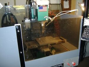 Table Top Grizzly G 0463 milling Machine Converted To Cnc