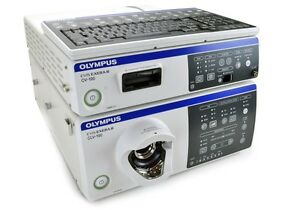 Cv 190 And Clv 190 New in box Olympus Processor Light Source 1 Yr Wrty