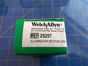 Welch allyn 25257 03100 Otoscope Illuminator Section And Bulb Only