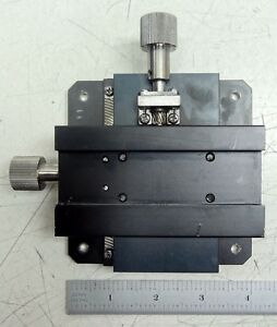 Ncr Linear Precision Optical X Stage Assembly W 4 X 4 Mounting Base