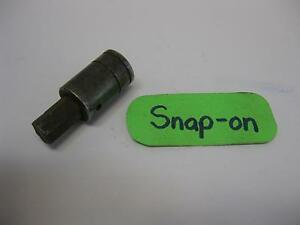 Snap On Vintage Tools 3 8 Ase 3 8 Drive Hex Bit Socket Driver Fa12a