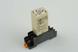 Delay Timer Time Relay With Base 10s Ac 110v H3y 2 0 10 Second Us Shipping
