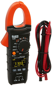 Klein Tools 400a Ac Auto ranging Digital Clamp Meter Current Measurements New