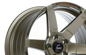 Cosmis Racing S1 18x9 5 15 5x114 3 Bronze set Of 4