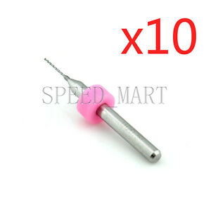 10 X 3d Printer Nozzle Pink Cleaning Tool 0 5mm Drill Bit For Extruder Reprap
