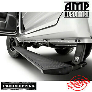 Amp Research Powerstep Plug Play Running Boards 16 17 Ram 1500 W Light Kit