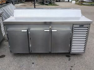 Kairak Krp 68s 2 Door Refrigerated Saut prep Table