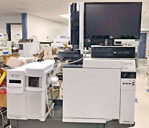 Agilent 7820a Gas Chromatograph With 5975 Series Msd System Ei ci Model Inert