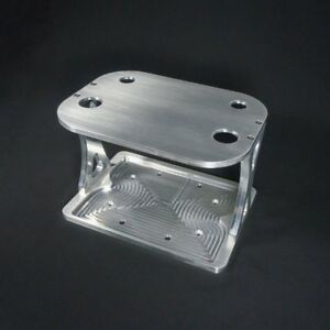 Battery Tray 25 shs Solid Top Billet Aluminum Hold Down Made To Fit Optima 25